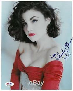 Sherilyn Fenn Signé Authentique Autographié Photo 8x10 Psa / Dna # Ac78233
