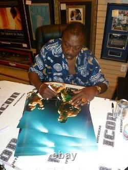 Smokin Joe Frazier Signé 16x20 Photo Psa/dna Coa Muhammad Ali Photo Autographe