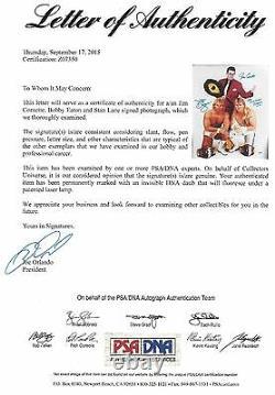 Stan Lane Bobby Eaton J Cornette Signé 16x20 Photo Psa/adn Wwe Midnight Express