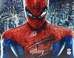 Stan Lee Authentique Photo Spider-man 16x20 Signée Psa / Adn Dédicacée 18