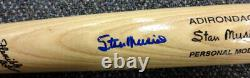 Stan Musial Autographed Signed Blonde Rawlings Bat Cardinals Psa/dna 45501