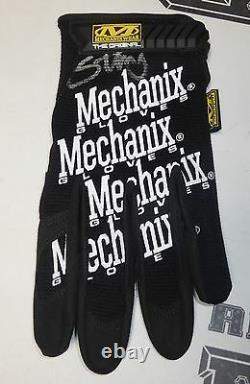 Sting Signé Officiel Mechanix Ring Glove Psa/dna Coa Tna Wwe Wcw Wrestling Auto