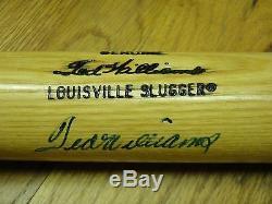 Ted Williams Psa / Dna Certifié Signé Louisville Slugger W215 Bat Autographié