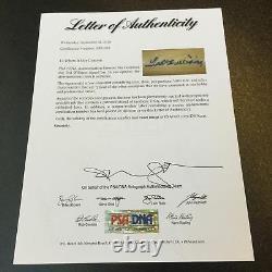 Ted Williams Signé Adirondack Modèle De Jeu Baseball Bat Psa Dna Coa