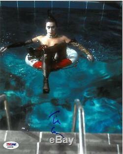Tim Curry Signé Rocky Horror Picture Show Autographié Photo 8x10 Psa / Dna # 2