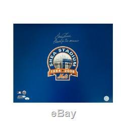 Tom Seaver Merci Pour Les Souvenirs Autographié New York Mets 16x20 Photo Psa / Adn