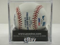 Tony Gwynn Psa / Dna Classé 10 Gem Mint Signé Officiel Mlb Baseball Autographed