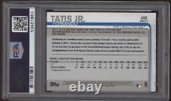 Topps 2019 #410 Fernando Tatis Jr. Rc Auto Autograph Psa/dna Authentic