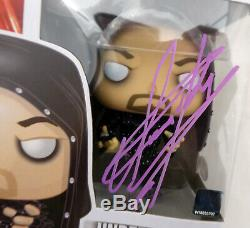 Undertaker Autographié Signé Wwe Funko Pop Vinyle Figurine Psa / Adn Itp 162970