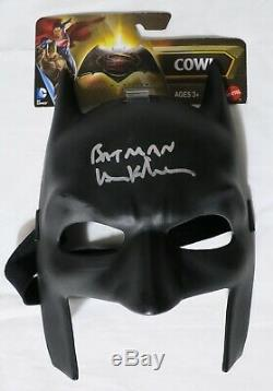 Val Kilmer Signé Masque Authentique Autographié Batman Withinsc. Psa / Adn Coa