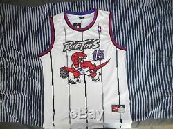 Vince Carter Toronto Raptors Nba Autographié / Signé Jersey Avec Psa / Adn Coa
