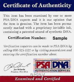 Walter Payton Autographié Signé Photo 8x10 Bears Sweetness Psa / Adn 76028