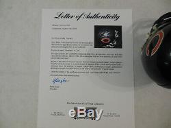 Walter Payton Signé Autographié Chicago Bears Mini Casque Psa Adn Loa