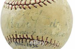 Yankees Babe Ruth Authentique Baseball Autographié Psa / Adn # X04919