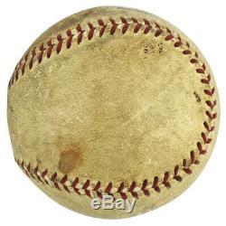 Yankees Babe Ruth Authentique Signé Balle De Baseball Autographiée Psa / Dna # V03362