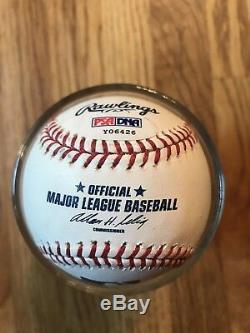 Yankees Derek Jeter Baseball Oml Signé Psa / Adn Authentifié