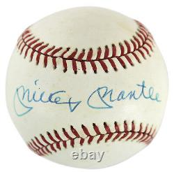 Yankees Mickey Mantle Authentic Signé Bobby Brown Oal Baseball Psa / Dna #c81145